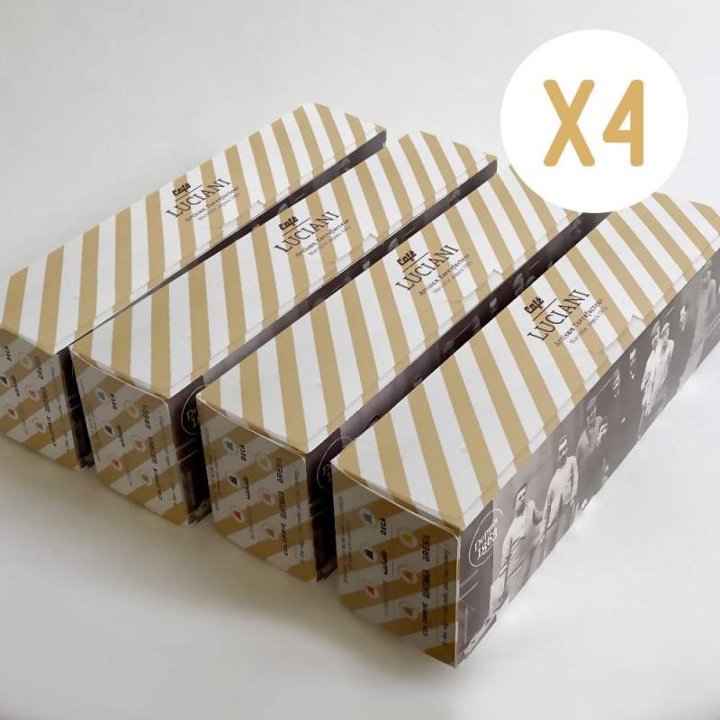 Mix : 4 boîtes -160 capsules