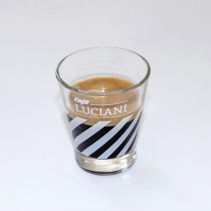 Lot de six verres Café Luciani